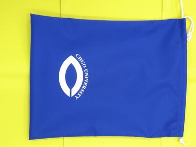 シューズ袋(青)