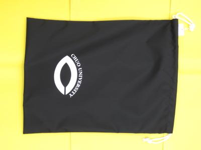シューズ袋(黒)