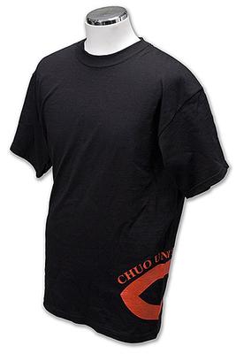 中大Tシャツ/サイドプリントタイプ[黒]