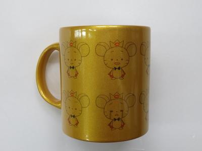 チュー王子マグカップ(ゴールド・シルバー)