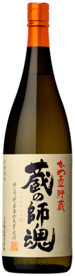 【芋焼酎】小正醸造 蔵の師魂 25度 1800ml