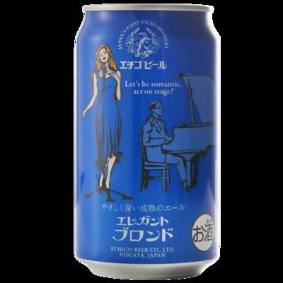 エチゴビール エレガントブロンド 350ml