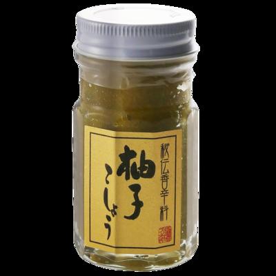 秘伝香辛料 柚子胡椒(青) 60g