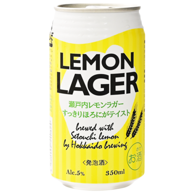 瀬戸内レモンラガー 350ml