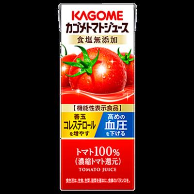 カゴメ カゴメトマトジュース 食塩無添加 200ml×24本
