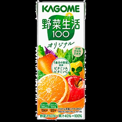 カゴメ 野菜生活100オリジナル 200ml×24本
