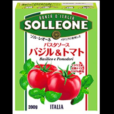 ソル・レオーネ パスタソース バジル&トマト 390g