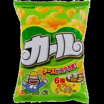 カール チーズあじ 地域限定品 明治 64g