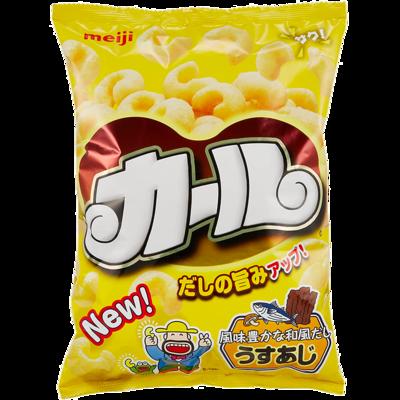 カール うすあじ 地域限定品 明治 68g