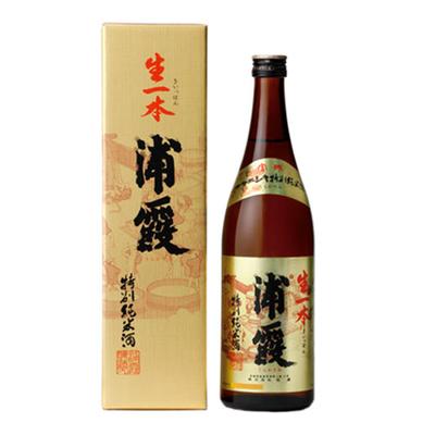 浦霞 特別純米酒 生一本 720ml
