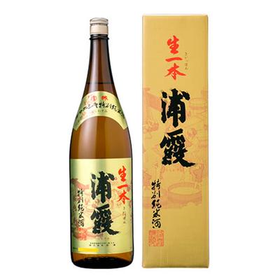 浦霞 特別純米酒 生一本 1800ml