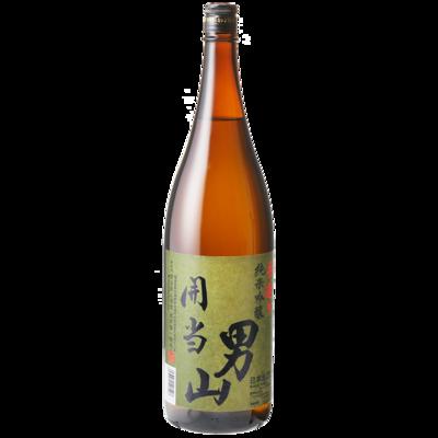開当男山 純米吟醸 1800ml