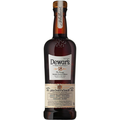 デュワーズ 18年 700ml