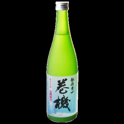 巻機 純米吟醸 生原酒(無濾過) 720ml