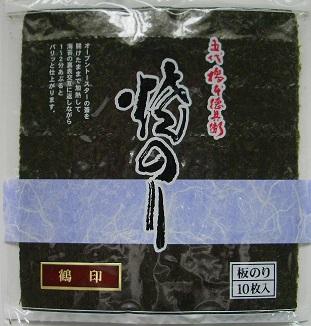 三重県産焼海苔 鶴印