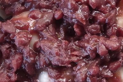 岩手県北上市  展勝地名物 冷凍タレもち(あずき) 300g(6切入)