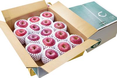 【上級品贈答用】「サンふじ」または「サンふじ&シナノゴールド」 3kg箱詰 (目安7〜9玉)
