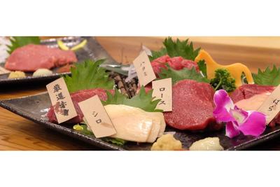 桜の時期にぴったり別名「桜肉」 UMAYA特選馬刺し 部位お任せ 10,800円(税込)セット