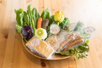季節の野菜とGIFTONセット