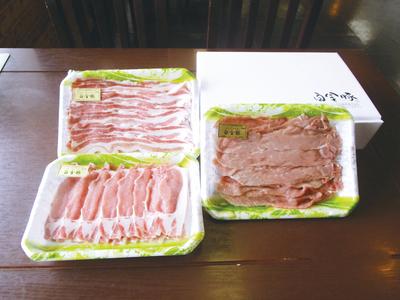 白金豚 焼肉・すき焼きセット