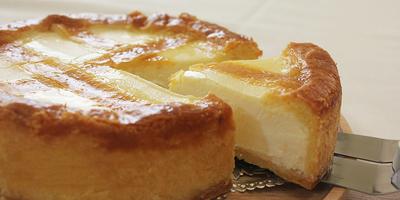 北上市の老舗名店 トロイカのチーズケーキ