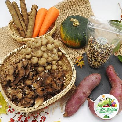 信州の里山 「秋の炊き込みご飯」具材セット