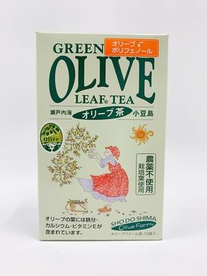 オリーブ茶 ティーパック 1箱(10袋入り)