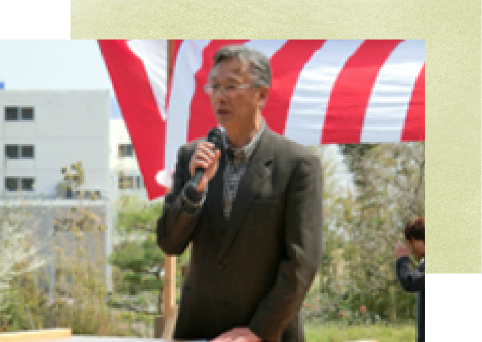 クラウンドワークさがえ佐藤理事長あいさつ