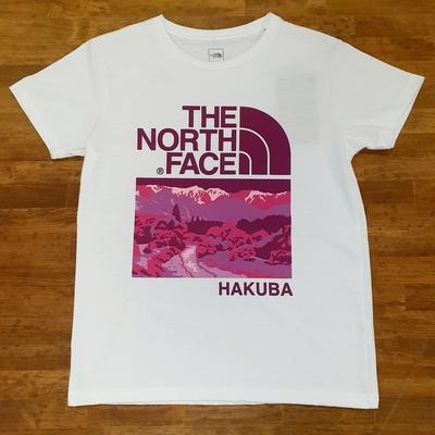 THE NORTH FACE HAKUBAオリジナルTシャツ  レディース ホワイトXLサイズ