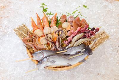 【冷凍/送料込】串焼き海鮮BBQセット