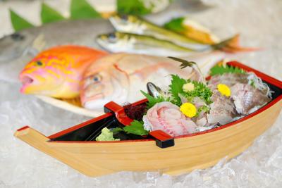 【冷蔵/送料込】お家でお魚捌き船盛セット