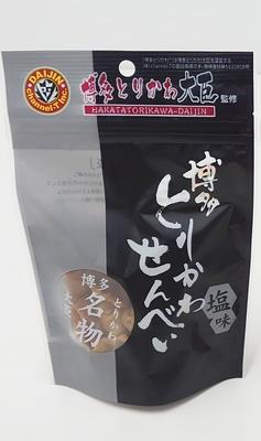 博多とりかわせんべい(塩味)40g