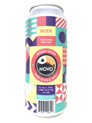Novo Brazil / Momo Haze ( モモ ヘイズ)473ml