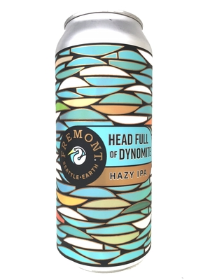 Fremont Brewing / Ver.28 Head Full Of Dynomite w/ Mosaic and Lotus(フリモント ヘッドフルダイナマイト)473ml