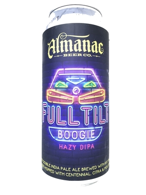 Almanac / Full Tilt Boogie Hazy DIPA (アルマナック フルティルト ブギー ヘイジー ダブルIPA)473ml