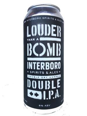 Interboro / Louder Than A Bomb (インターボロ ローダーザン ア ボム )473m