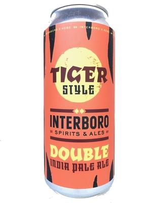 Interboro Spirits and Ales / Tiger Style (インターボロ タイガースタイル )473m