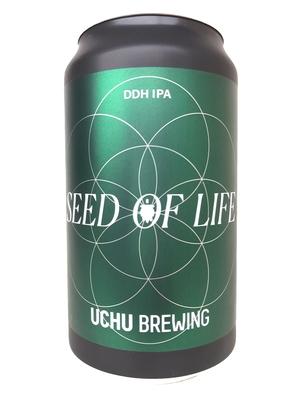 Uchu Brewing / SEED OF LIFE  (うちゅうブルーイング シードオブライフDDH IPA)350ml 缶