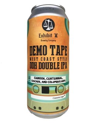 Exhibit 'A' Brewing /Demo Tape(エグジビットエーブリューイング デモテープ) West Coast Style DIPA 473ml