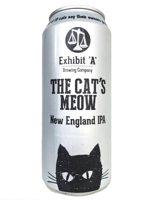 Exhibit 'A' Brewing / THE CAT'S MEOW(エグジビットエーブリューイング ザ キャッツミャオ) New England IPA 473ml