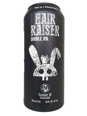 Exhibit 'A' Brewing / HAIR RAISER(エグジビットエーブリューイング ヘアレーザー) New England Double IPA 473ml