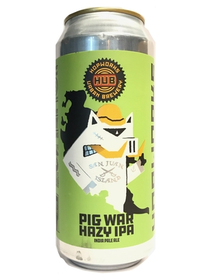 Hop Works / PIG WAR HAZY IPA(ホップワークス ピッグウォーヘ イジーIPA)473ml