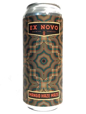 Ex-Novo / MANGO HAZE MAZE (エクスノボ  マンゴー・ヘイズ・ メイズ ヘイジーIPA) 355ml