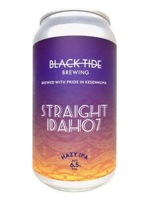 6月19日発送開始予定!Black Tide Brewing / Straight Idaho7(ブラックタイド ストレート アイダホ7)350ml