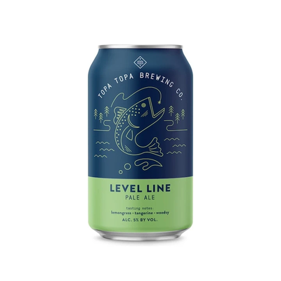 Topa Topa / Level Line Pale Ale ( レベル ライン ペールエール)355ml