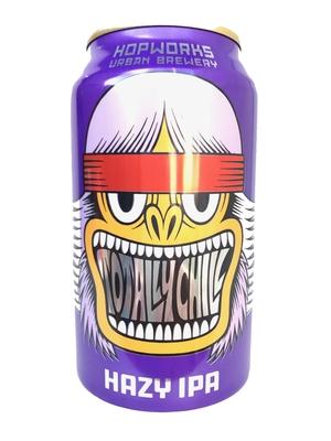 Hop Works /  Totally Chill Hazy IPA (ホップワークス トータリーチルヘイジーIPA)473ml