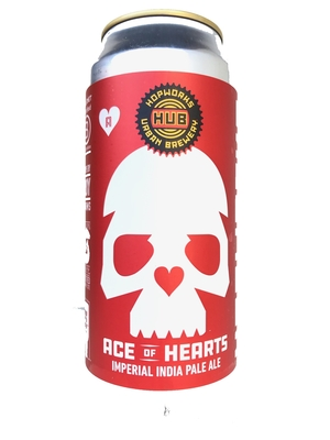 Hop Works /  Ace of Hearts (ホップワークス  エースオブハート インペリアル IPA )473ml