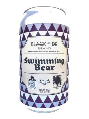 Black Tide Brewing Collaboration with Baeren / Swimming Bear(ブラックタイドxベアレン  スイミングベアー)350ml