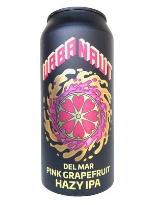 アーバノートブリューイング (Urbanaut Brewing Co.) / デルマーピンクグレープフルーツヘイジーIPA(Del Mar Pink Grapefruit Hazy IPA)440ml