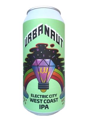 アーバノートブリューイング (Urbanaut Brewing Co.) / エレクトリックシティー ウエストコーストIPA(Electric City WCIPA)440ml